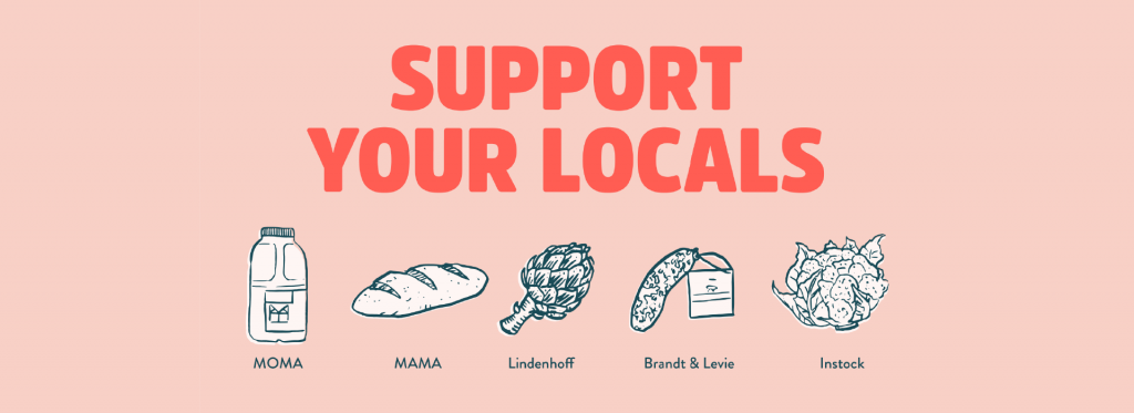 generic Support your locals banner